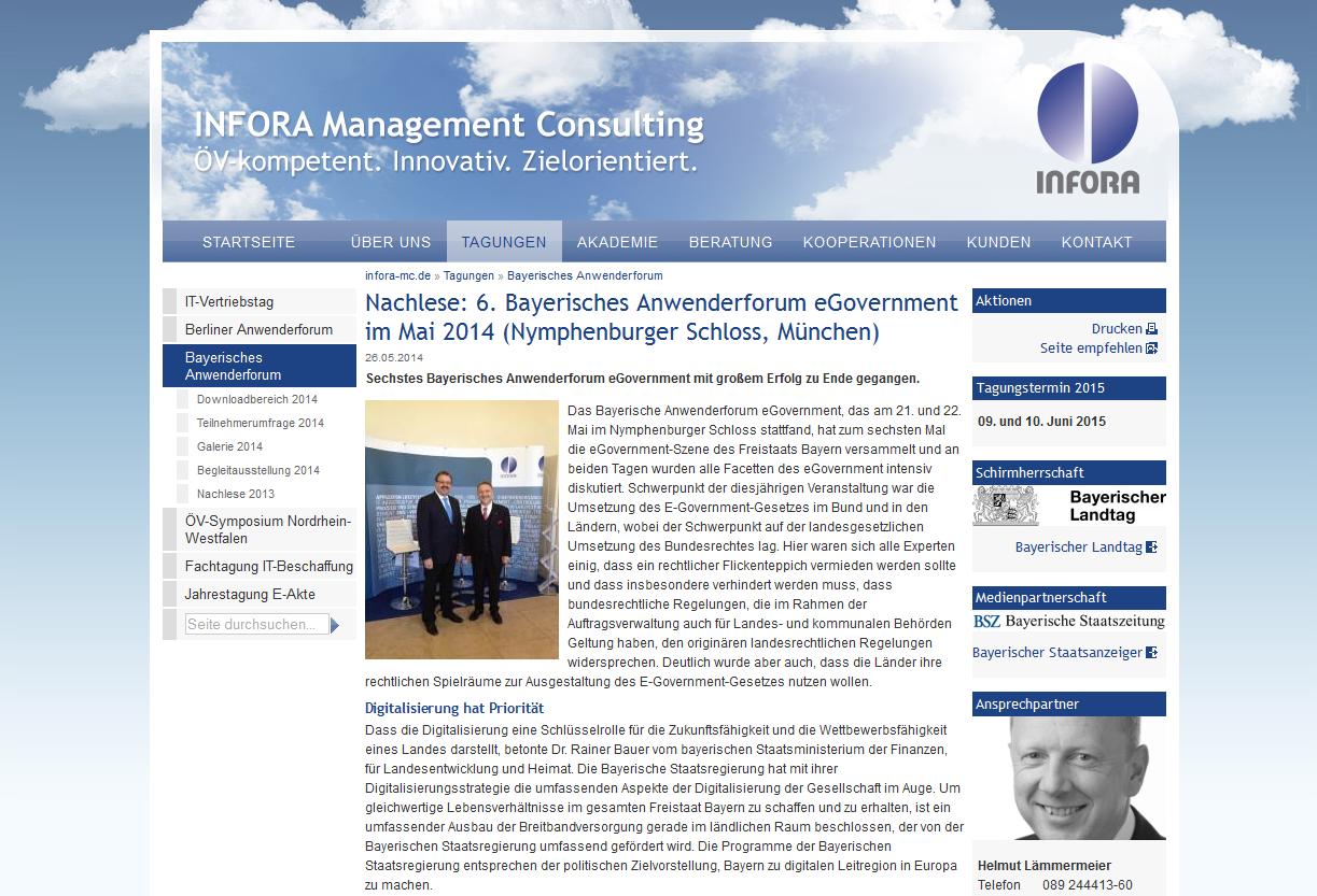 Bayerisches Anwenderforum eGovernment