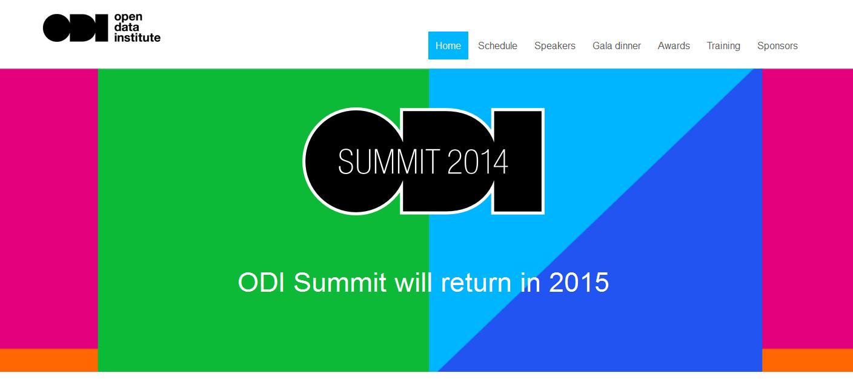 2014 ODI Summit