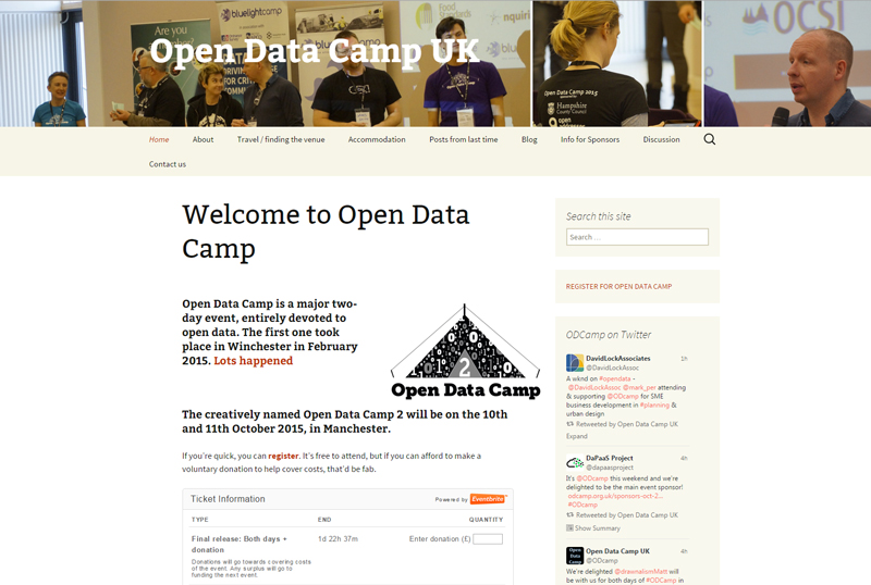 ODC 2015 - Open Data Camp 2
