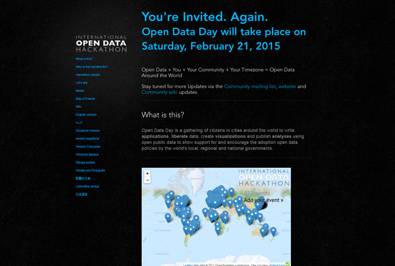 Open Data Hackathon 2015