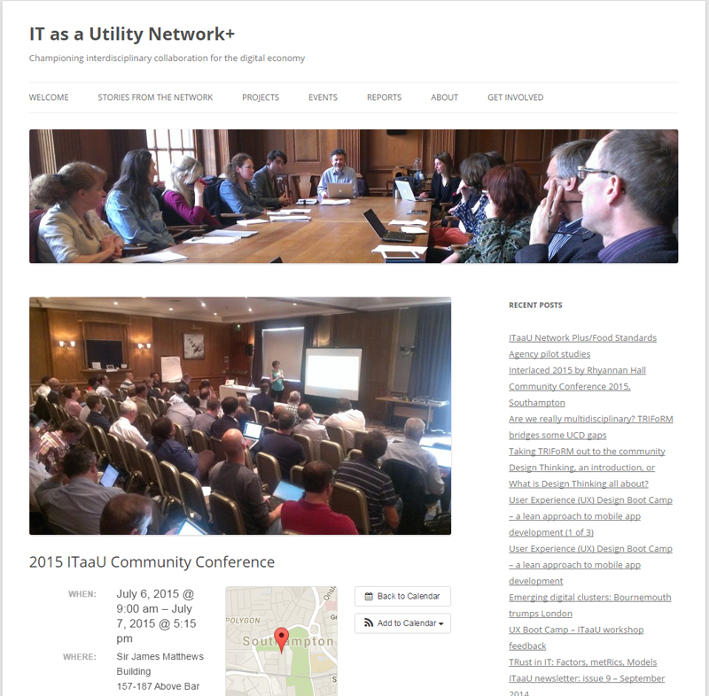 IT as a Utility Network+ 2015